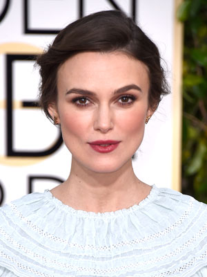 Knightley makeup Golden Me better Globes natural About   Ask 2015: Keira is Makeup all
