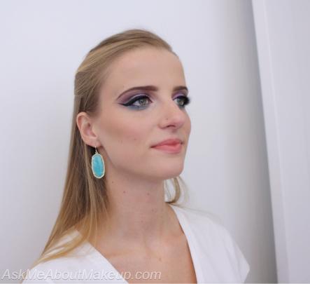 Urban Decay Spectrum Eyeshadow Pallete Makeup look