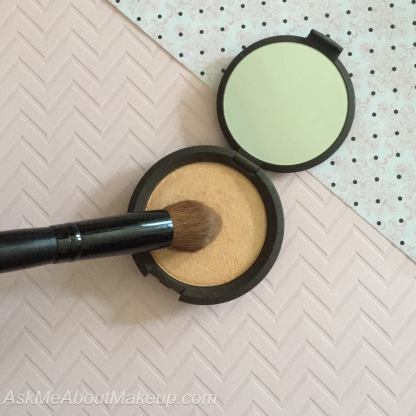One brush can have different uses - makeup - makeup brush - multiple uses - Becca Champagne pop